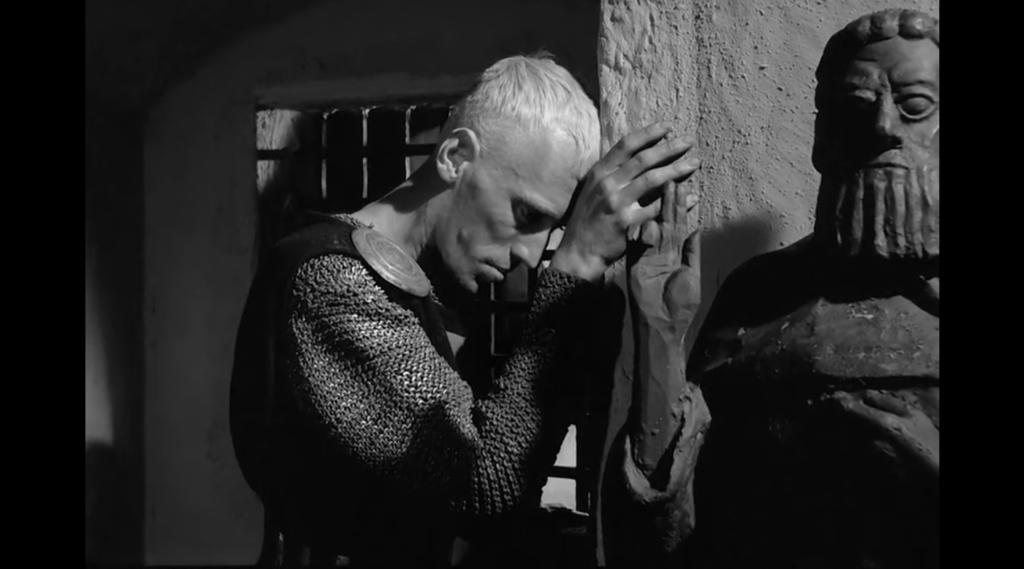 «Qualcosa in cui credere», Il settimo sigillo di Ingmar Bergman
