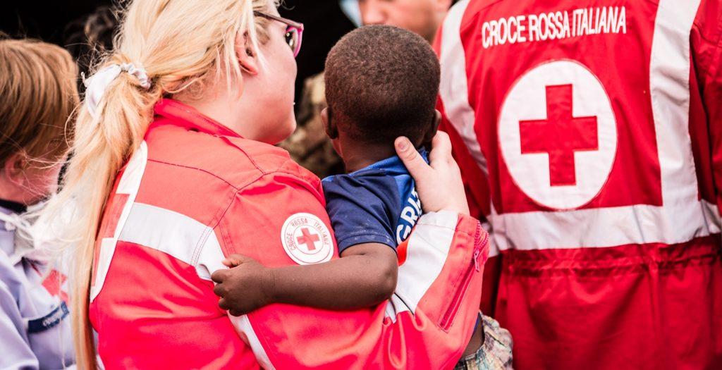 """Il """"tempo di gentilezza"""" della Croce Rossa"""