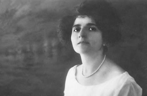 Lina Merlin da giovane