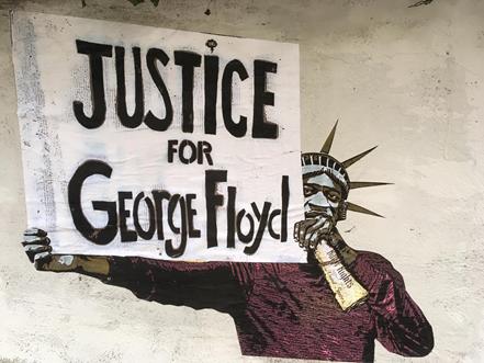 Murales George Floyd