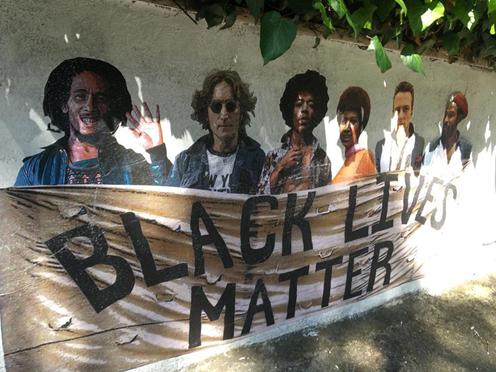 Murales Black Lives Matter