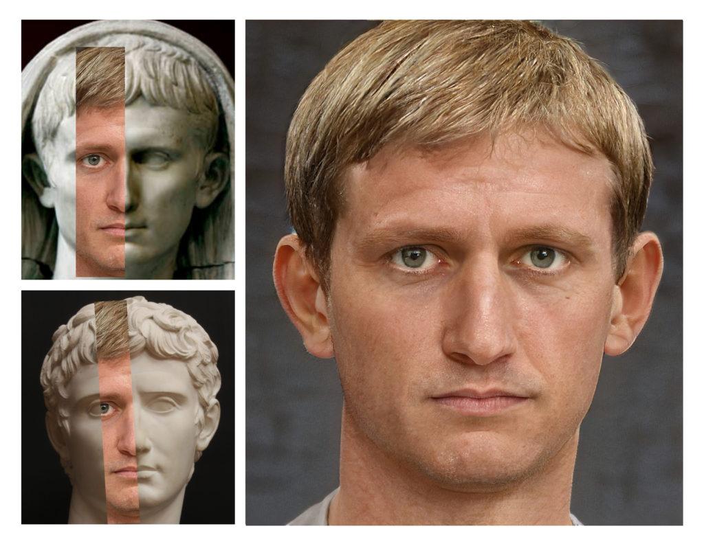 I volti degli imperatori romani prendono vita grazie all'intelligenza artificiale