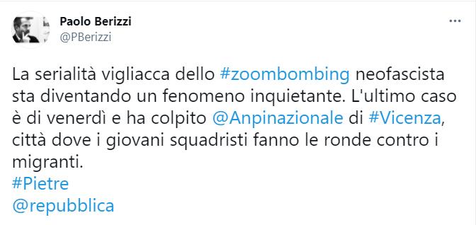 Zoombombing Zoom
