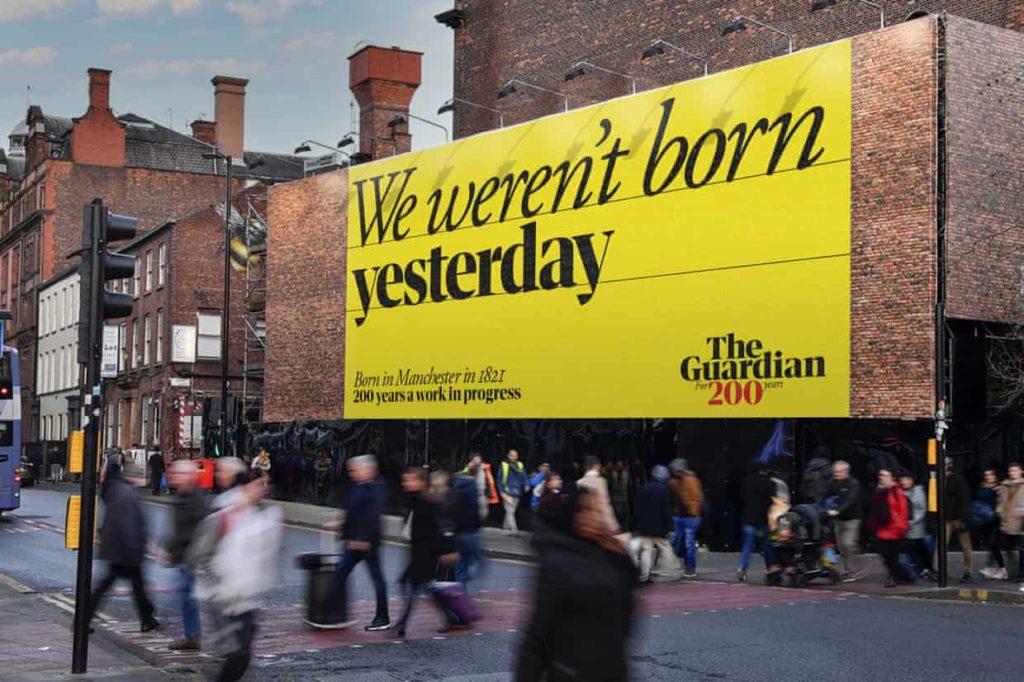 "The Guardian, ""200 anni di work in progress"""